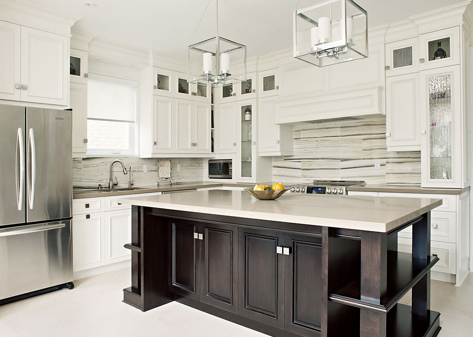 Photo gallery kitchen cabinets custom kitchen and for Kitchen cabinets toronto