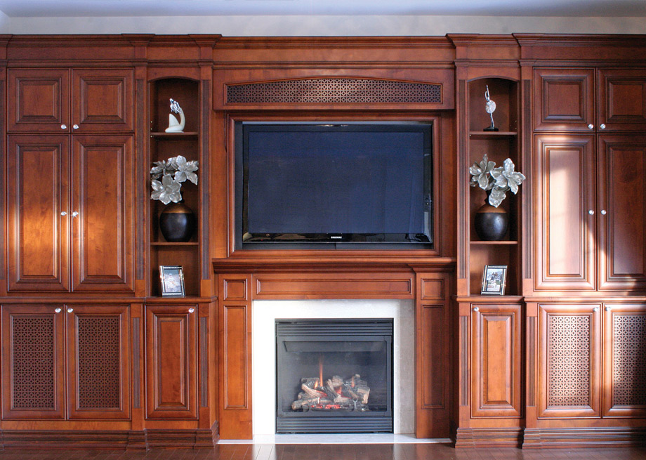Media Center Cabinetry