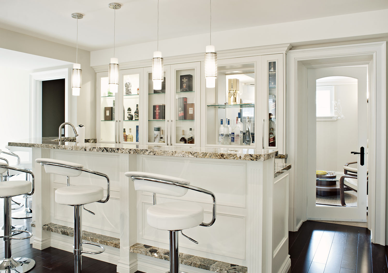 Custom Home Bars | Custom Kitchen and Bathroom Cabinetry